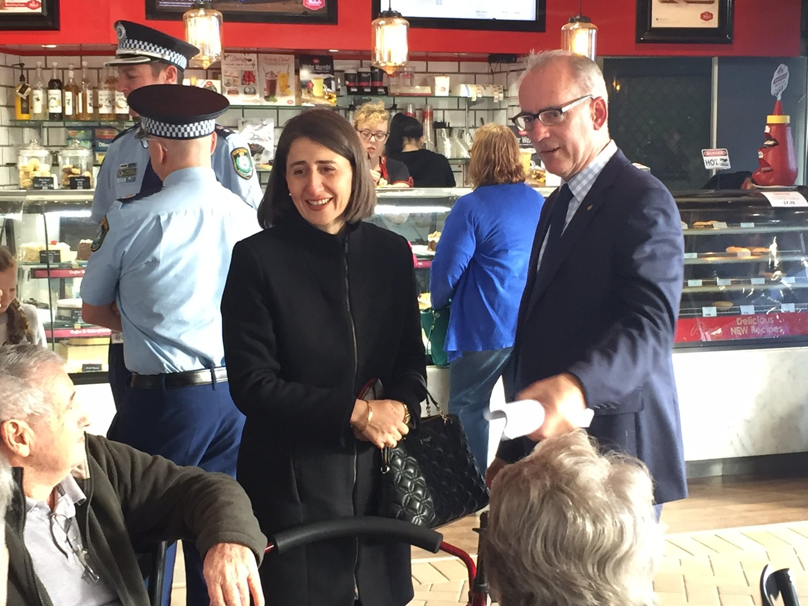 It was great to spend time with NSW Premier Gladys Berejiklian today, showing her around Lake Macquarie and bringing her up to speed with some of the issues we have here.