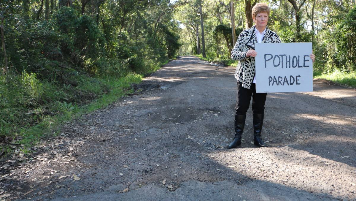 The situation with the road at the end of Wangi Point has become somewhat of a debacle. If you've travelled along there recently you'd know that some