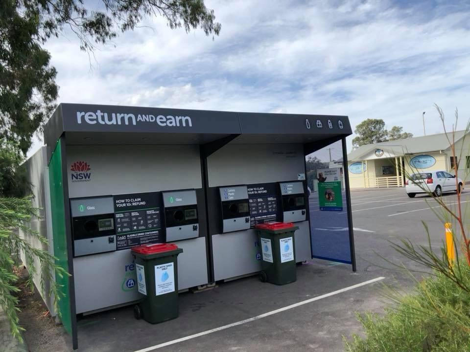 I've had a lot of inquiries today about the removal of the Return & Earn recycling machine at Rathmines. The first I knew about the removal was when some locals contacted me over the weekend. I'm aware that Lake Macquarie
