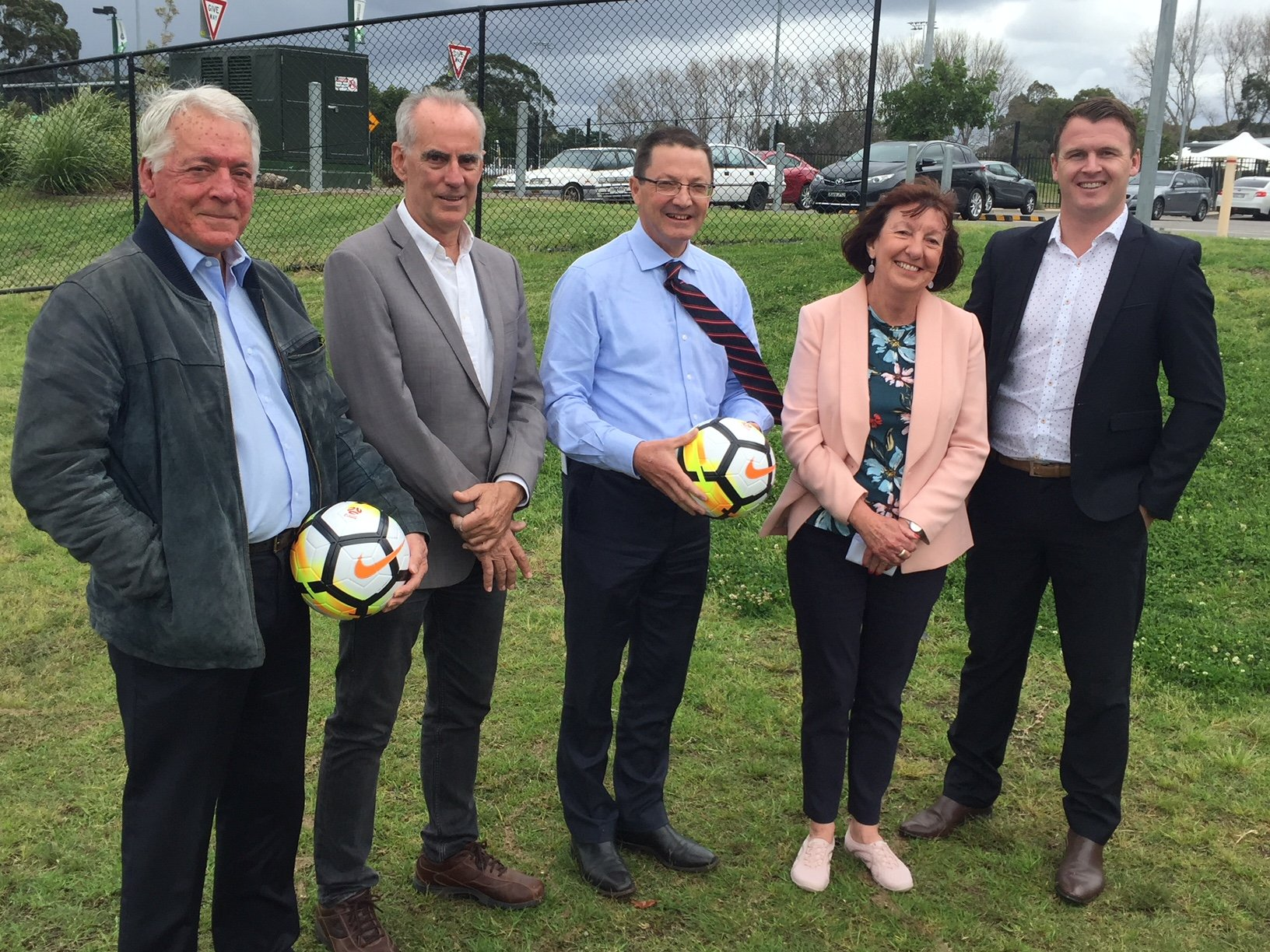 Fantastic news today for Northern NSW Football. We've secured $2.25m from the State Government to significantly expand the Lake Macquarie Regional Football Facility at Speers Point.