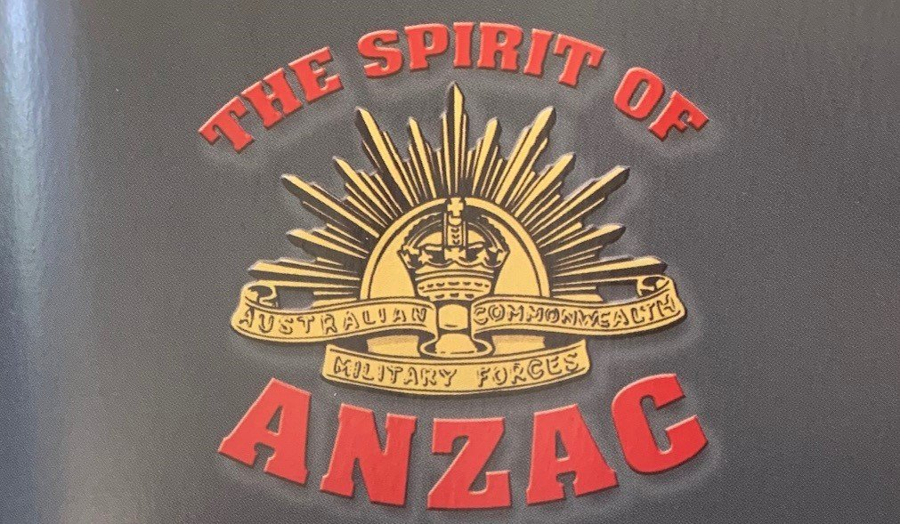 My annual Anzac Day booklet should be landing in your letterbox this week, so let me know if you don't receive one. I have a few spares available at my Toronto