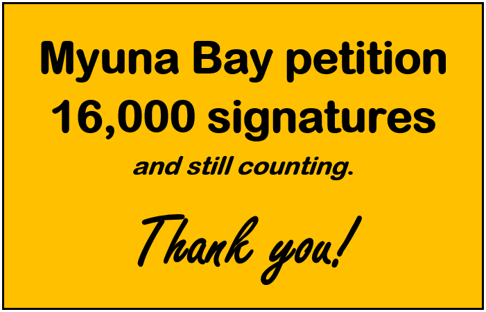 What an effort! We now have more than 16,000 formal signatures on the petition and more are rolling in every day.