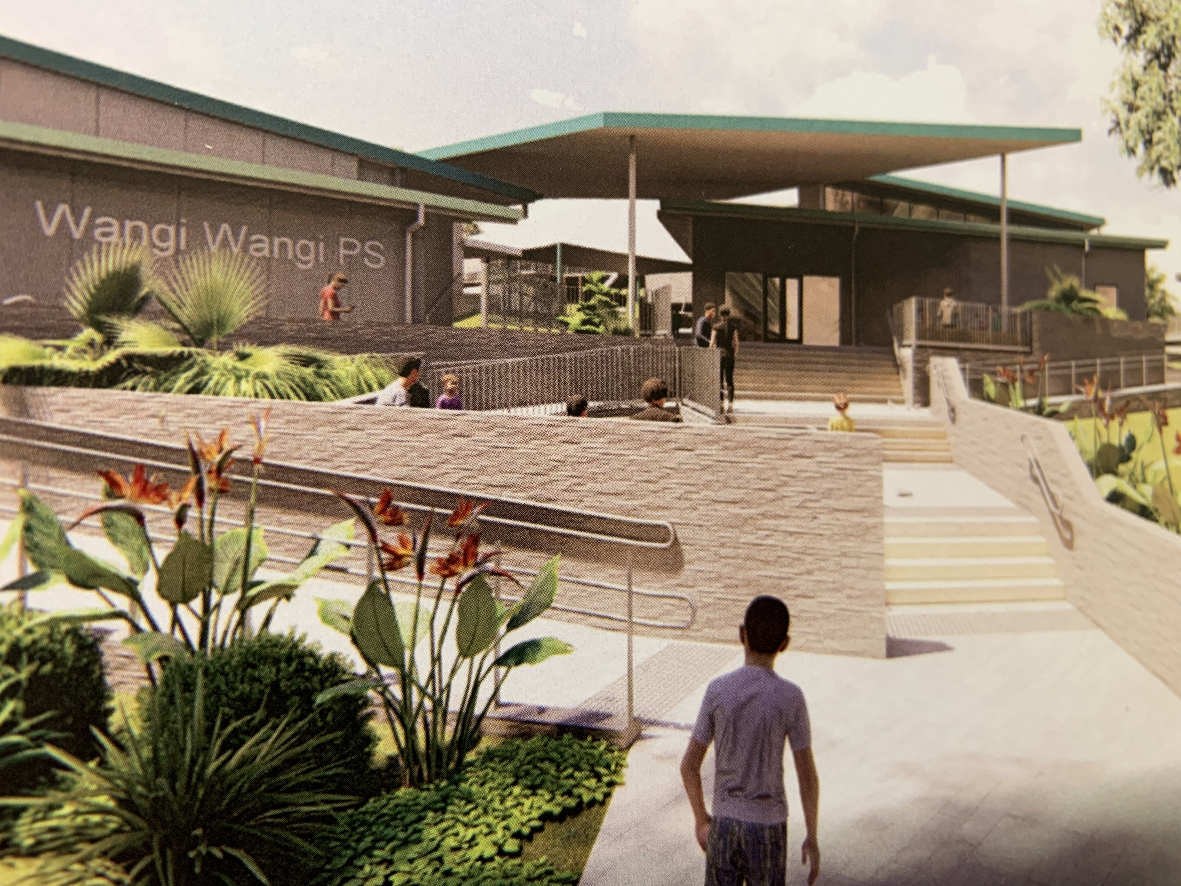 Very excited to report that construction work is about to start on the major upgrades of Wangi Wangi and Speers Point public schools.