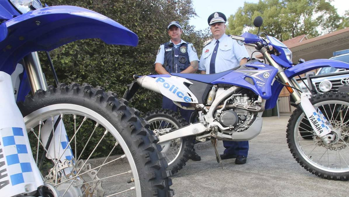 The number of complaints about illegal trail bikers in the area has become a significant problem. The rules are pretty simple, as Lake Macquarie Police
