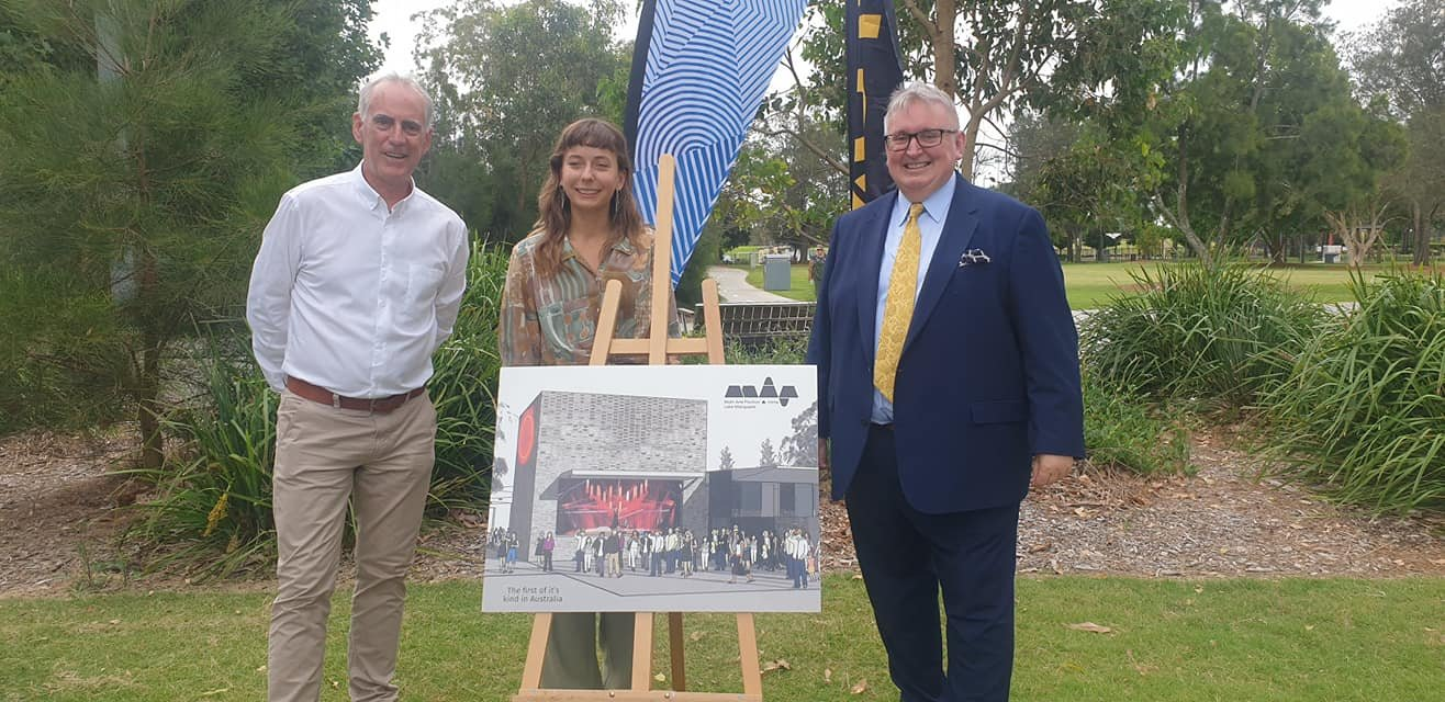 I was joined by Minister for the Arts Don Harwin today to mark the start of construction of the new Multi-Arts Pavilion in Speers Point Park. The NSW Govt has