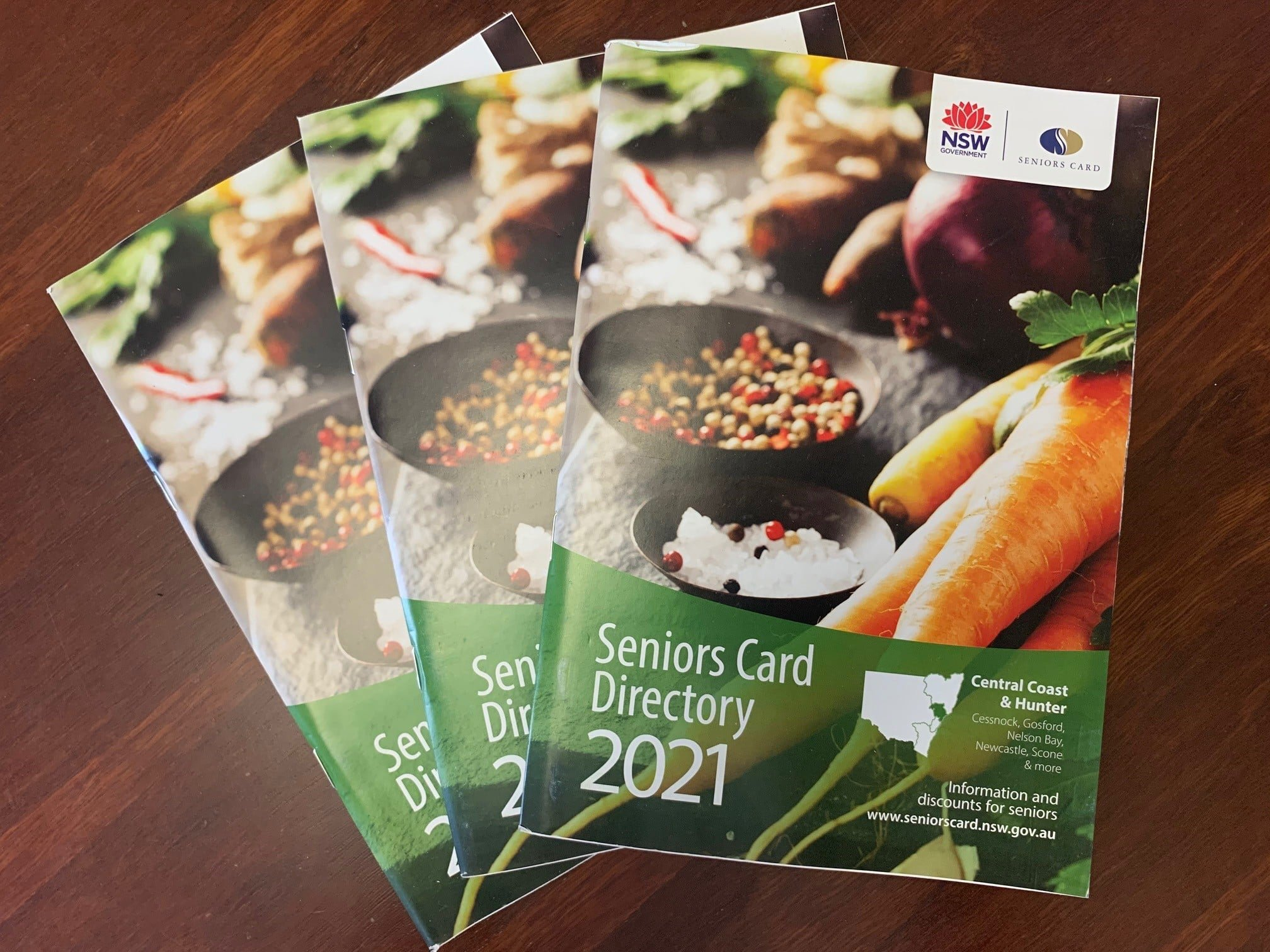 I still have plenty of free copies of the 2021 Seniors Card Directory and the 2021 Legal Aid Diary for Seniors available in my office. Both are really handy publications.