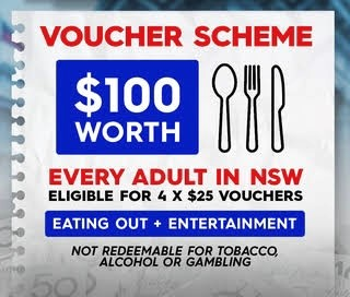Lake Macquarie residents will soon be able to access their four $25 Dine and Discover vouchers, so if you don't yet have a Service NSW account, or if you have