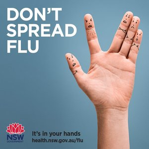 While everyone's battling to keep away from Covid-19, NSW Health is also asking people to get a seasonal flu shot as we head towards winter.