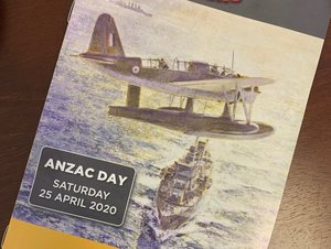 My annual Anzac Day commemorative booklet is currently being delivered to all homes in my electorate. With Anzac Day services all cancelled