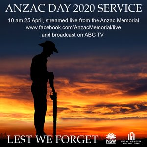 I know many local people will be marking Anzac Day from their lounge rooms or with a candle in their driveway this Saturday, but don't forget that the Sydney