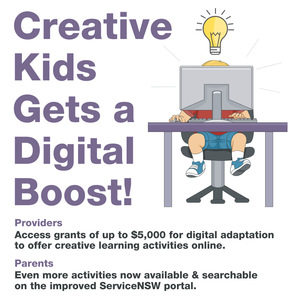 There's been an expansion of the popular Creative Kids and Active Kids programs in NSW which provide parents with $100 vouchers for cultural and