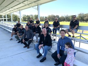 I want to acknowledge the fantastic new facilities that have been secured by Westlakes Wildcats FC at Fishburn Reserve, Rathmines. I joined the club today