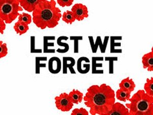 REMEMBRANCE DAY SERVICES TO GO AHEAD! Some good Covid news this morning. The Premier has announced that next month's Remembrance Day services