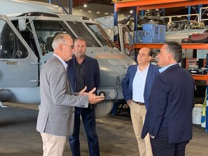 I'm hosting Deputy Premier John Barilaro in Lake Macquarie this morning to show him how our area could provide this State and others with an effective, reliable and