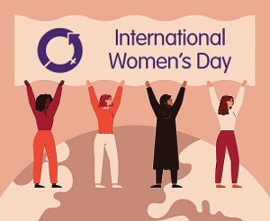 Here's to all the wonderful women who keep our world going! Where would we be without you? Happy International Women's Day to you all, especially the ones close