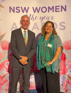 Many of you know the very talented Saretta Fielding from Toronto, but for those who don't, let me introduce you to the Lake Macquarie Local Woman of the Year! I was so pleased to join Saretta in Sydney this morning for the NSW Women of the Year