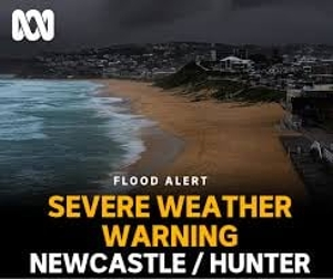 Despite the drenching we got yesterday, more severe weather is on the way. Parts of the local area including Toronto and Wangi recorded about 150mm of rain yesterday,