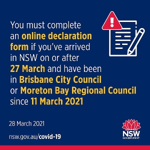 All good in NSW - no new cases of community transmission for the 11th day in a row, and no cases among the returned overseas travellers in quarantine. That's not the